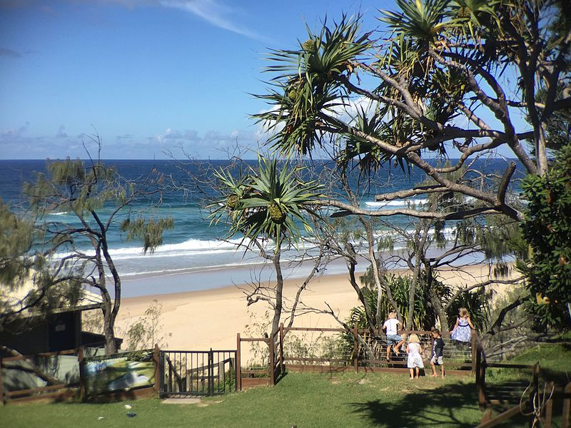 Sunshine Beach Landmark